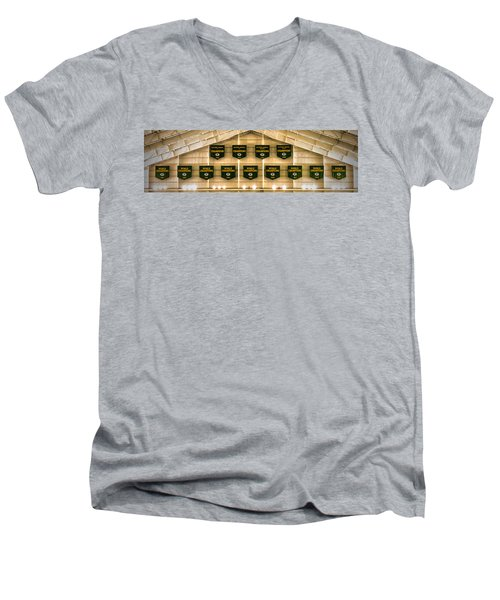 Championship Banners Men's V-Neck T-Shirt