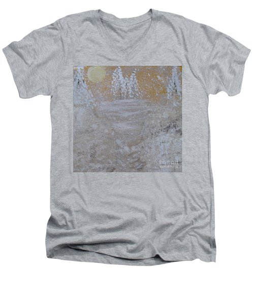 Christmas Card No.2 Men's V-Neck T-Shirt