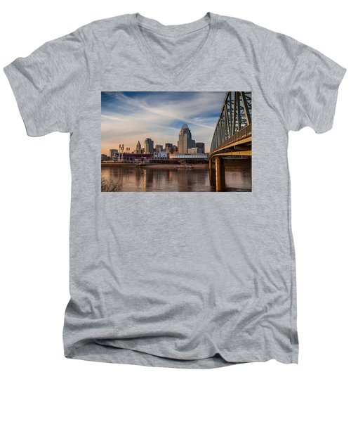 Cincinnati Men's V-Neck T-Shirt