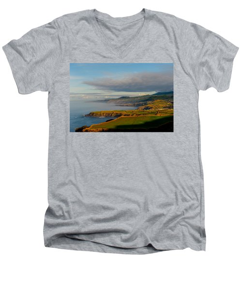 Coast Of Heaven Men's V-Neck T-Shirt