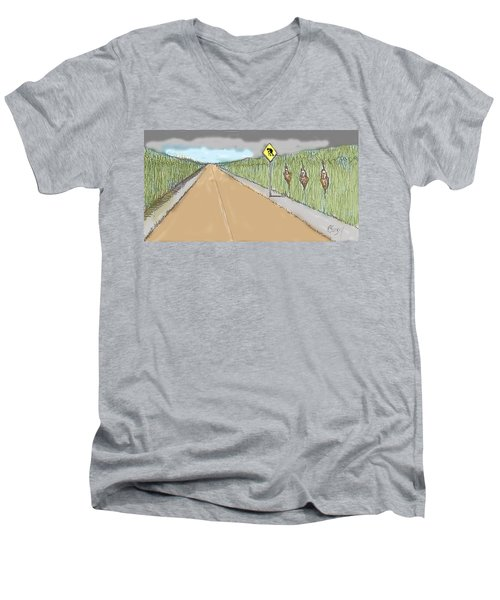 Coots Crossing Men's V-Neck T-Shirt
