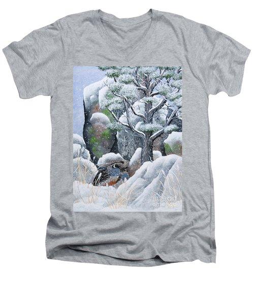 Cozy Couple Men's V-Neck T-Shirt