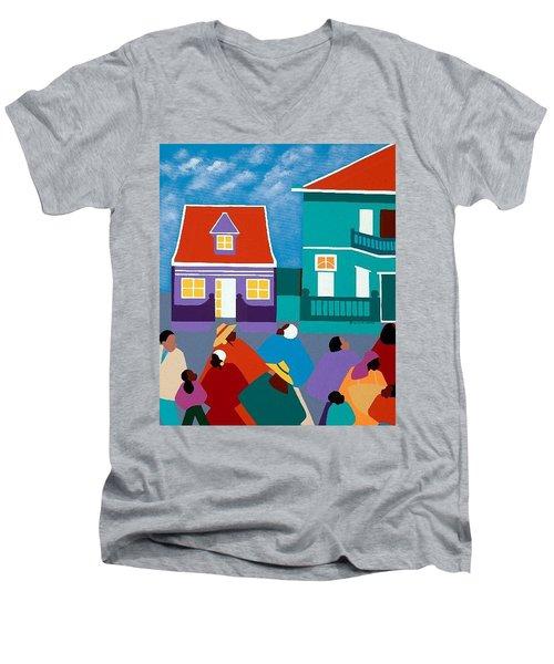 Curacao Dreams II Men's V-Neck T-Shirt