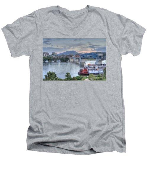 Delta Queen Men's V-Neck T-Shirt
