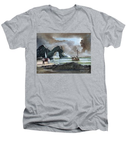 Durdle Door - Dorset Men's V-Neck T-Shirt