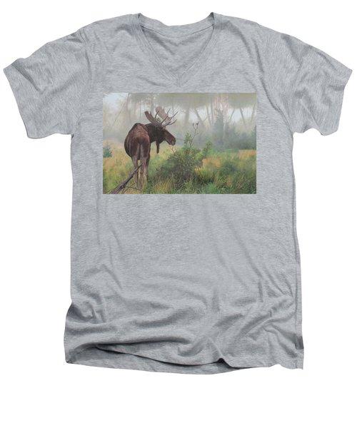 Early Morning Mist Men's V-Neck T-Shirt