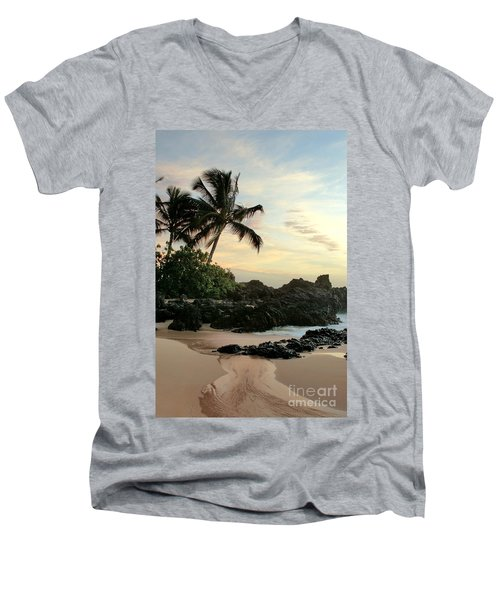 Edge Of The Sea Men's V-Neck T-Shirt