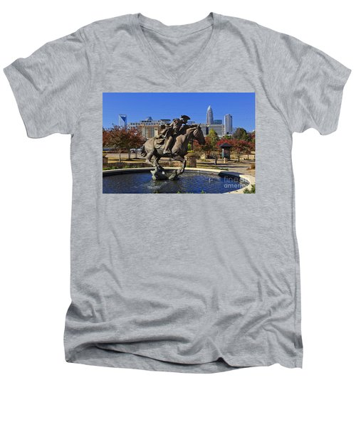Elizabeth Park At Charlotte Men's V-Neck T-Shirt