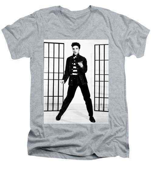 Elvis Presley Men's V-Neck T-Shirt