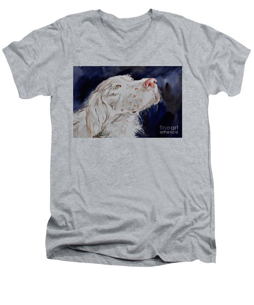 English Setter  Men's V-Neck T-Shirt