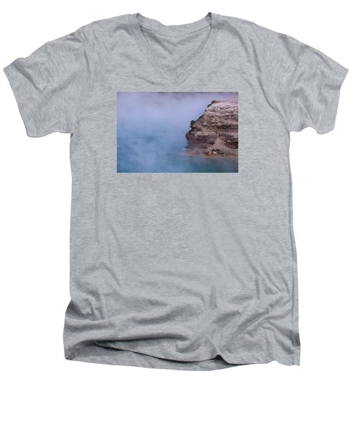 Excelsior Geyser Crater Men's V-Neck T-Shirt