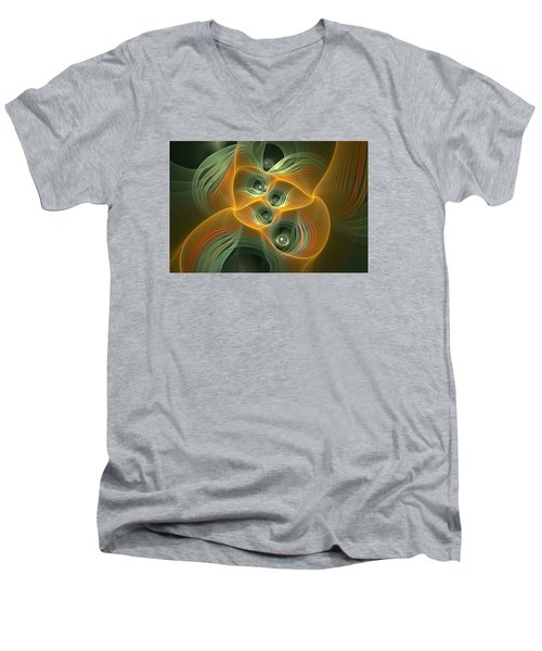 Eyes Of Sarawak Men's V-Neck T-Shirt
