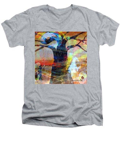 Family Connection Men's V-Neck T-Shirt