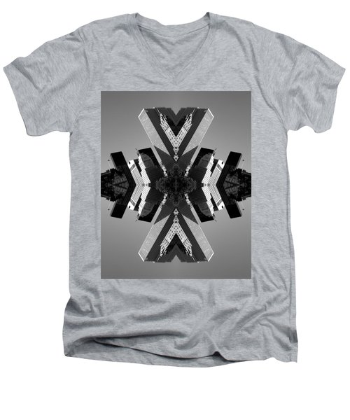 5th Ave Men's V-Neck T-Shirt