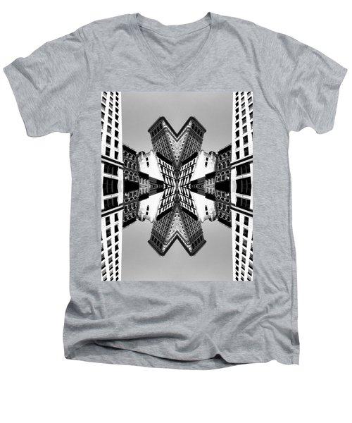 Flat Iron Men's V-Neck T-Shirt