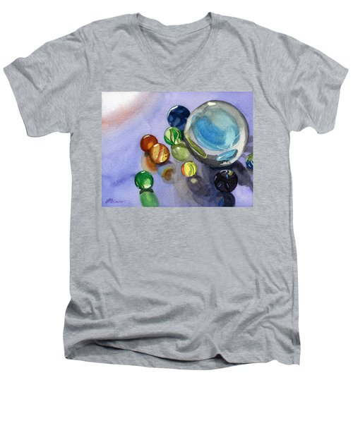 Found My Marbles Men's V-Neck T-Shirt