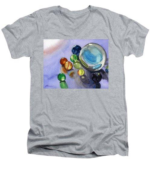 Found My Marbles Men's V-Neck T-Shirt