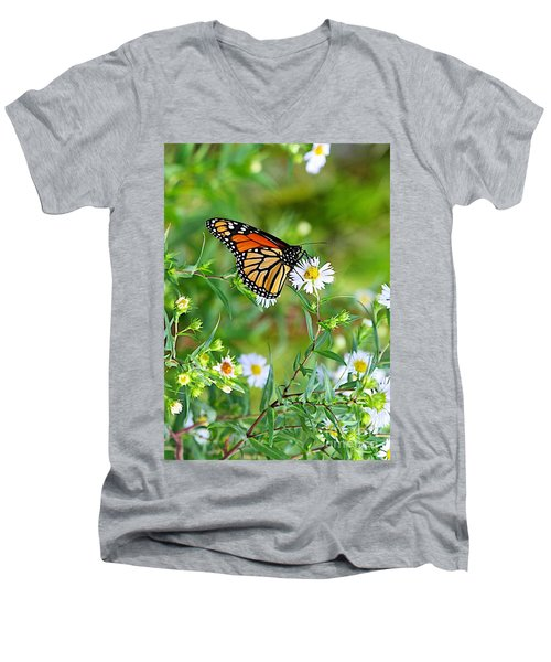 Men's V-Neck T-Shirt featuring the photograph Gods Creation-17 by Robert Pearson