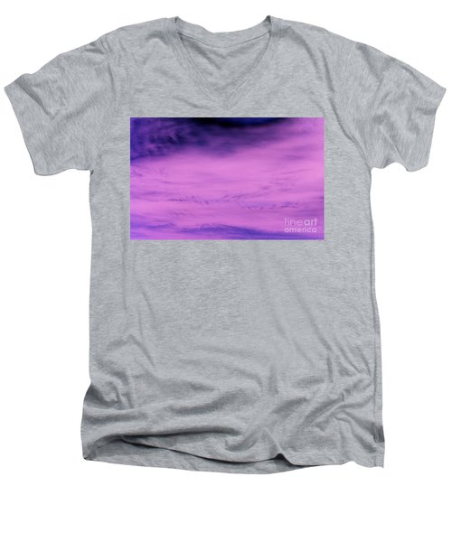 Men's V-Neck T-Shirt featuring the photograph Gravity Pull by Jamie Lynn