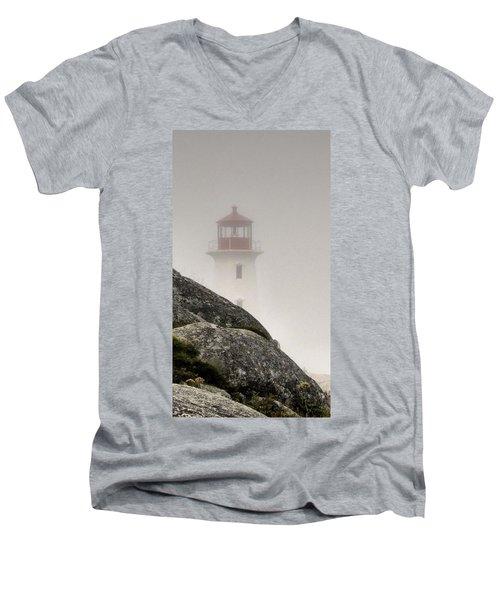 Halifax Fog Men's V-Neck T-Shirt