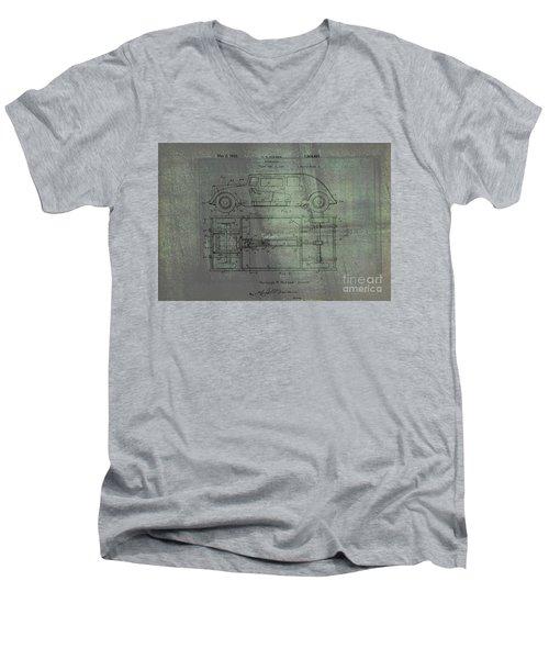 Harleigh Holmes Original Automobile Patent  Men's V-Neck T-Shirt