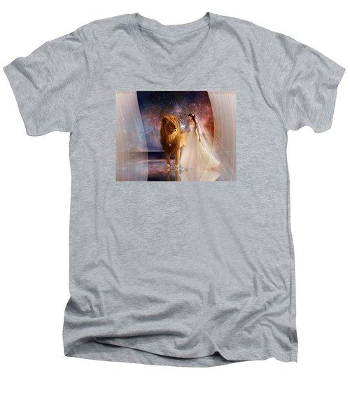 In His Presence Men's V-Neck T-Shirt