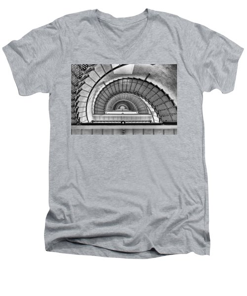 Into The Light Men's V-Neck T-Shirt by Howard Salmon