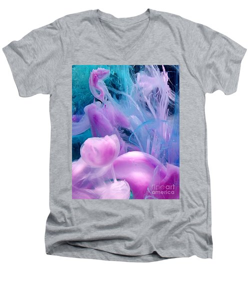 Jellyfish Dreams Men's V-Neck T-Shirt
