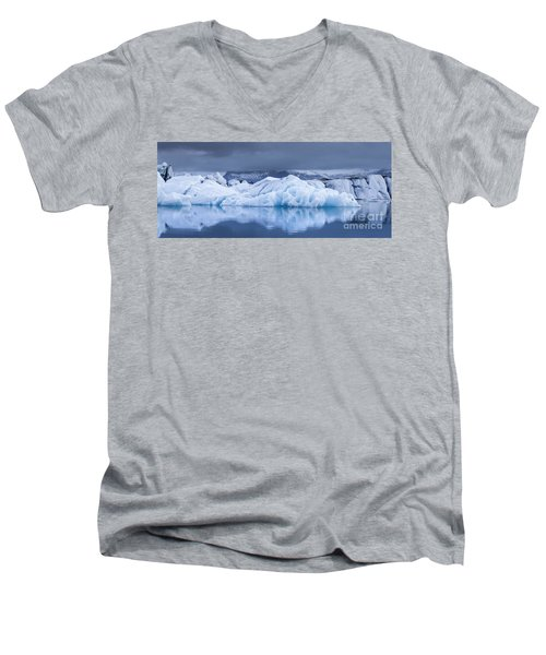 Jokulsarlon Men's V-Neck T-Shirt