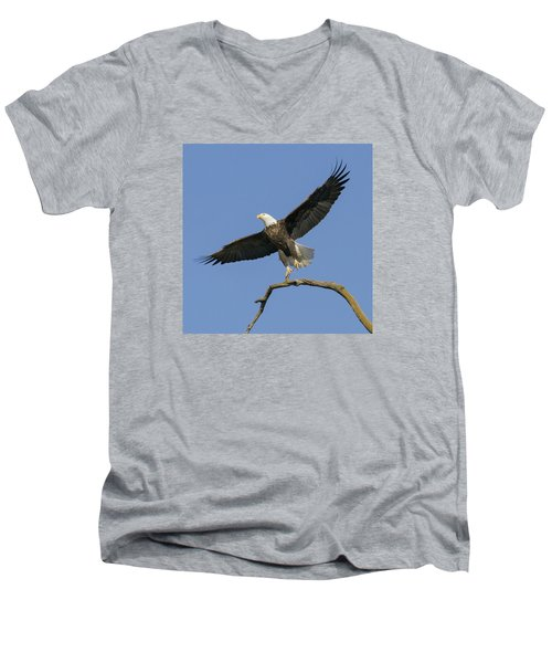 King Of The Sky 3 Men's V-Neck T-Shirt