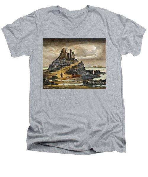 Lindisfarne 2 Men's V-Neck T-Shirt