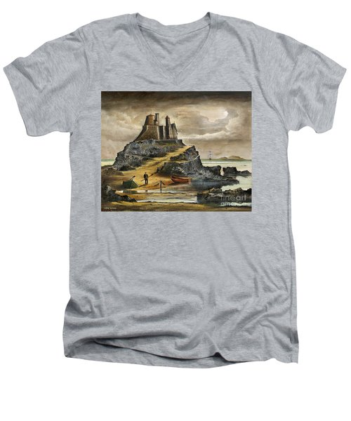 Lindisfarne 2 Men's V-Neck T-Shirt