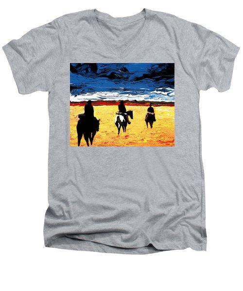 Long Journey Home Men's V-Neck T-Shirt