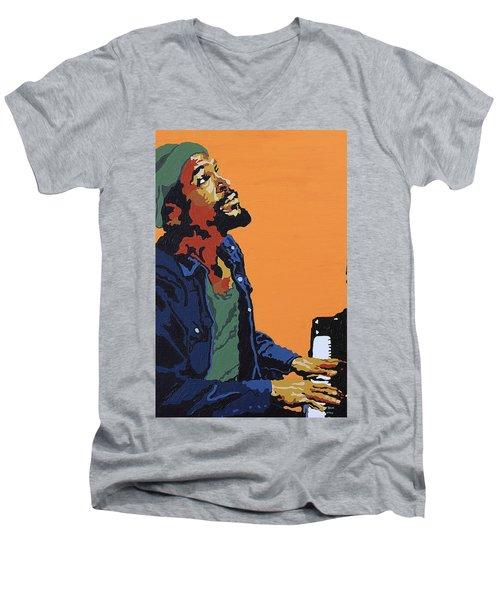 Marvin Gaye Men's V-Neck T-Shirt
