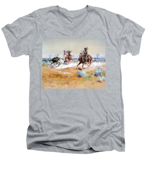 Mexico Men's V-Neck T-Shirt