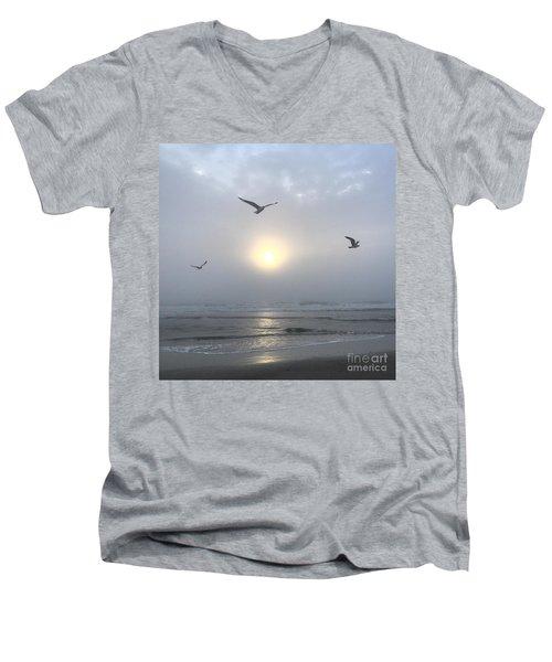 Moment Of Grace Men's V-Neck T-Shirt