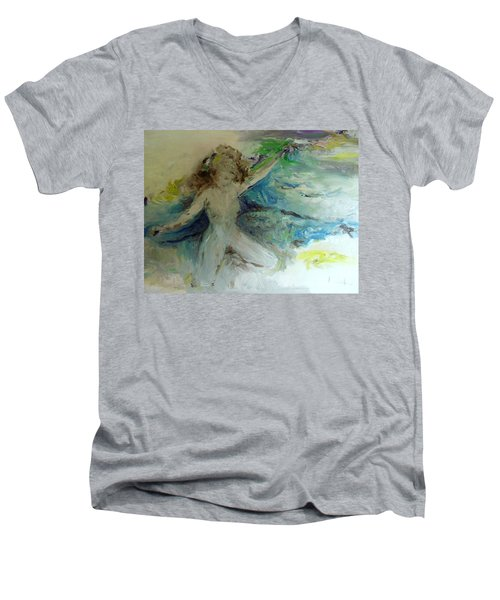 My Vagina Men's V-Neck T-Shirt by Laurie L