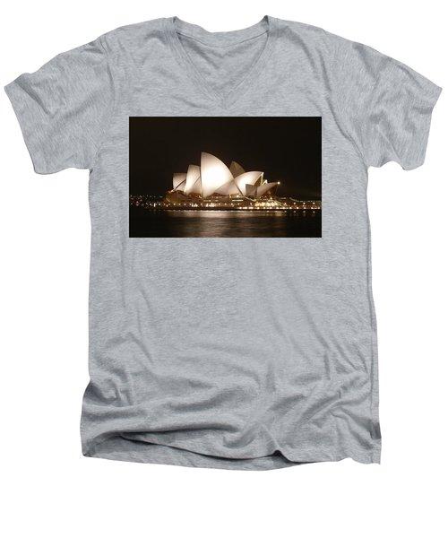 Night At The Opera Men's V-Neck T-Shirt