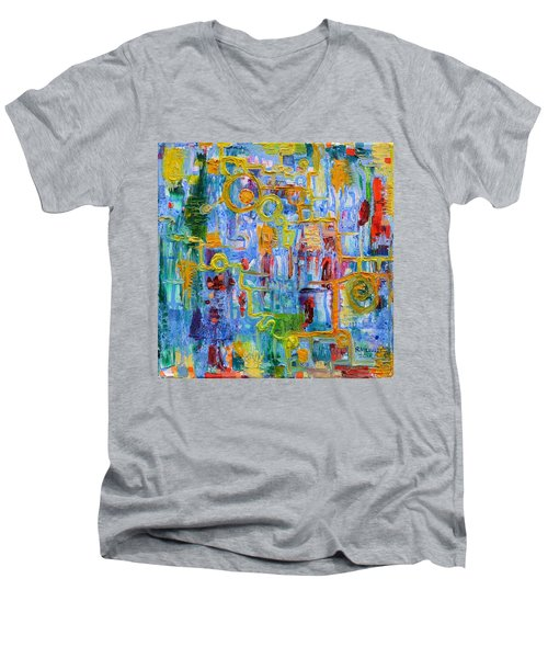 Nonlinear Men's V-Neck T-Shirt