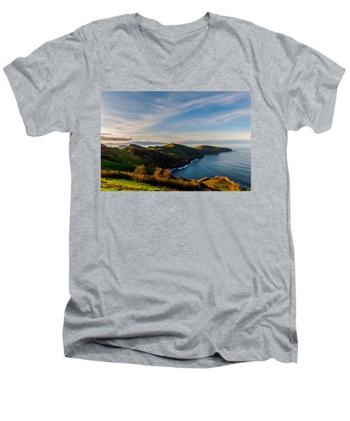 Out Bond To The Sea Men's V-Neck T-Shirt