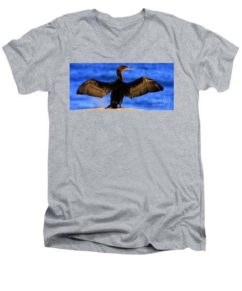 California Blue Men's V-Neck T-Shirt