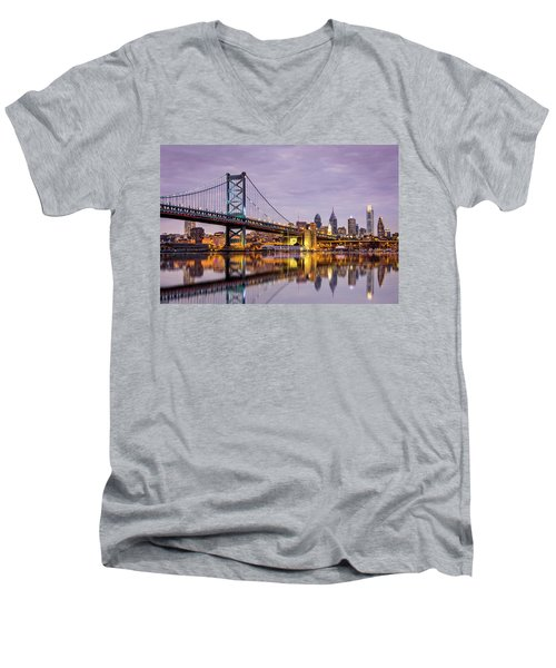 Philly Men's V-Neck T-Shirt