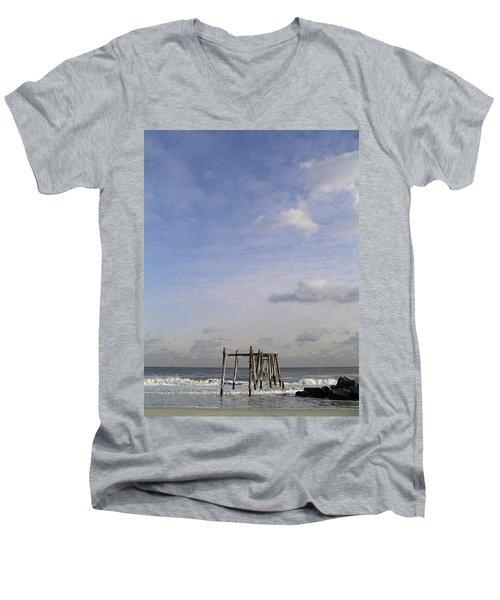 Pier Sky Men's V-Neck T-Shirt
