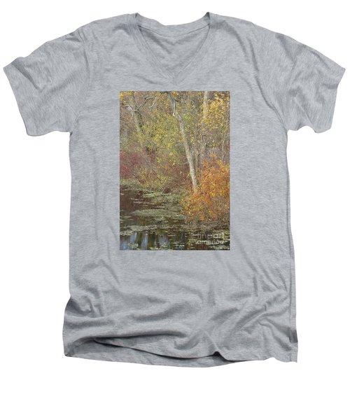 Pondside Pastel Men's V-Neck T-Shirt