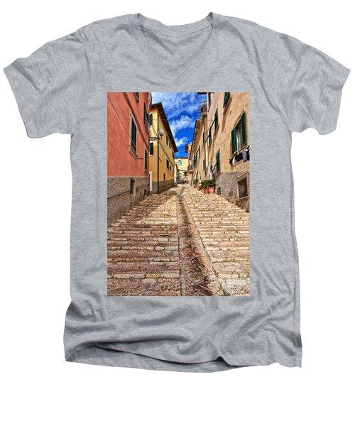 Portoferraio - Isle Of Elba Men's V-Neck T-Shirt