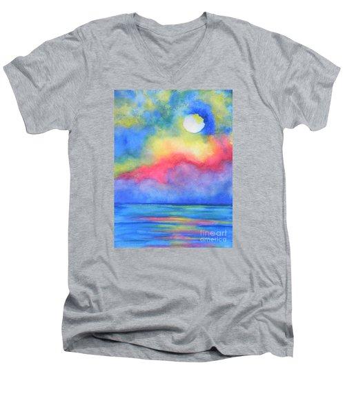 Power Of Nature  Men's V-Neck T-Shirt by Chrisann Ellis