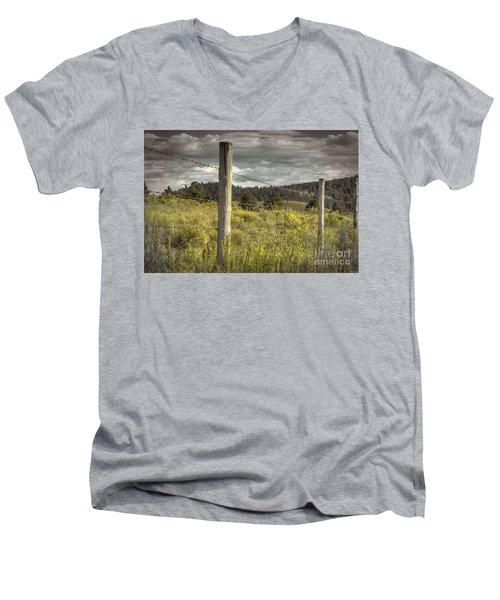 Prairie Fence Men's V-Neck T-Shirt