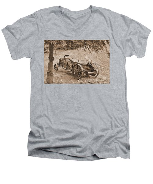 Retired But Ready Men's V-Neck T-Shirt