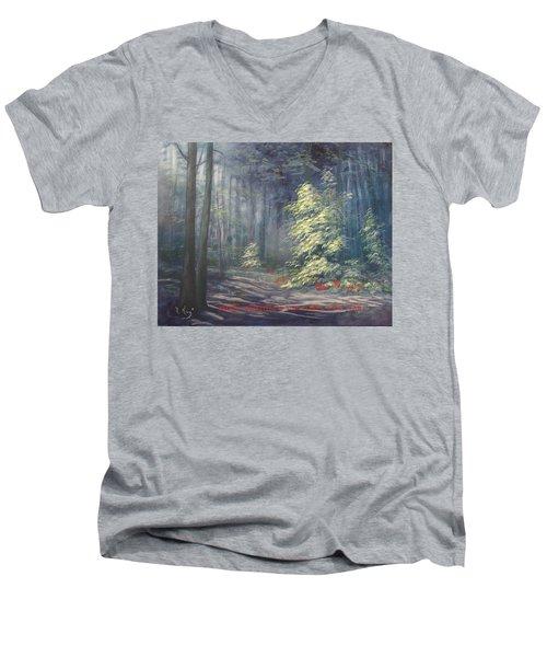 Roena King - Christmas Light Men's V-Neck T-Shirt