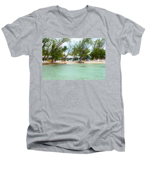 Rum Point Men's V-Neck T-Shirt